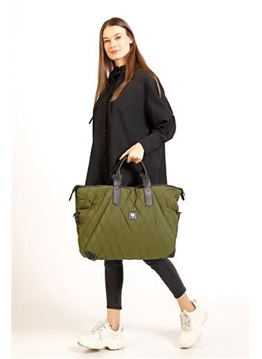 TH Bags Seyahat Çantası Yeşil